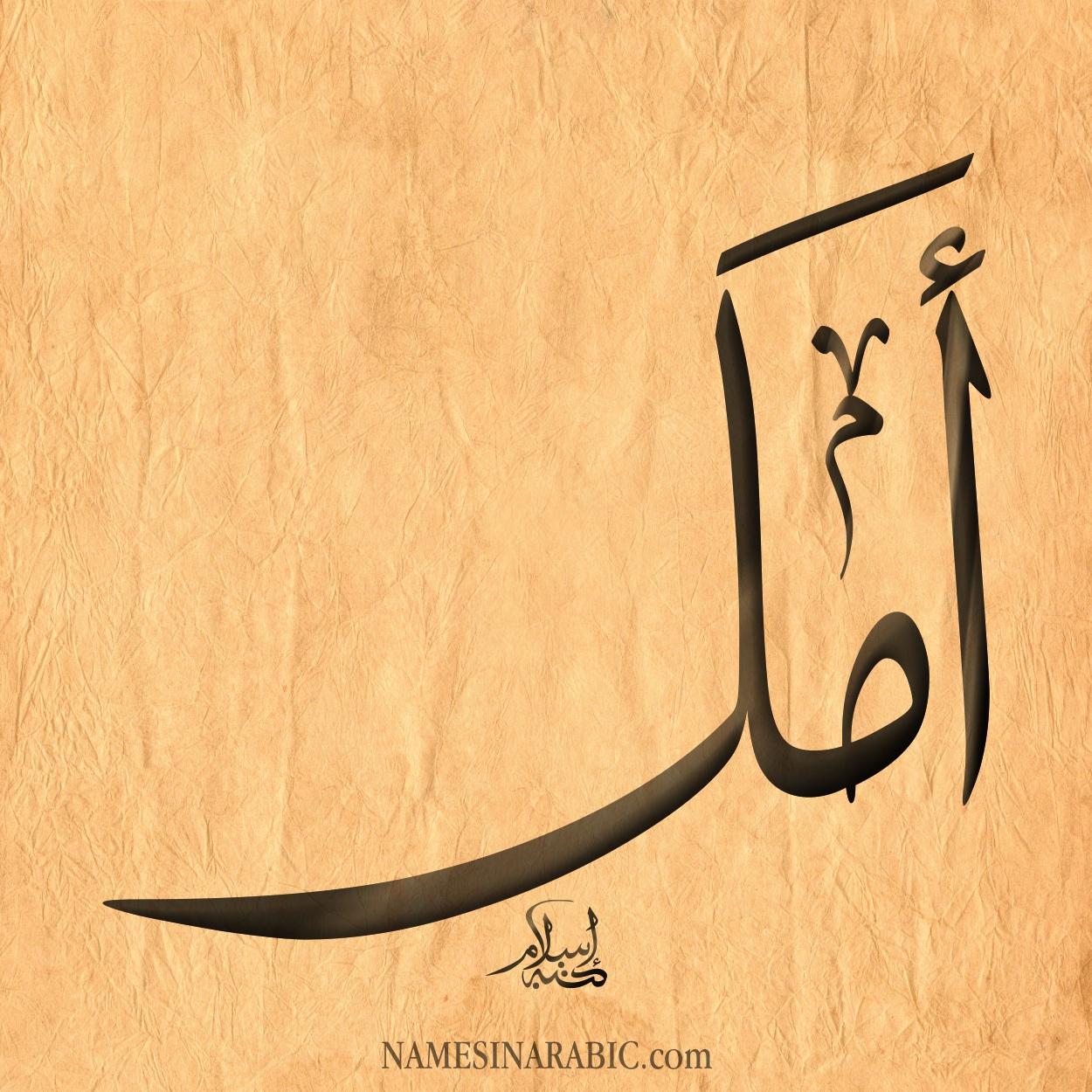 صور اسم أمل قاموس الأسماء و المعاني