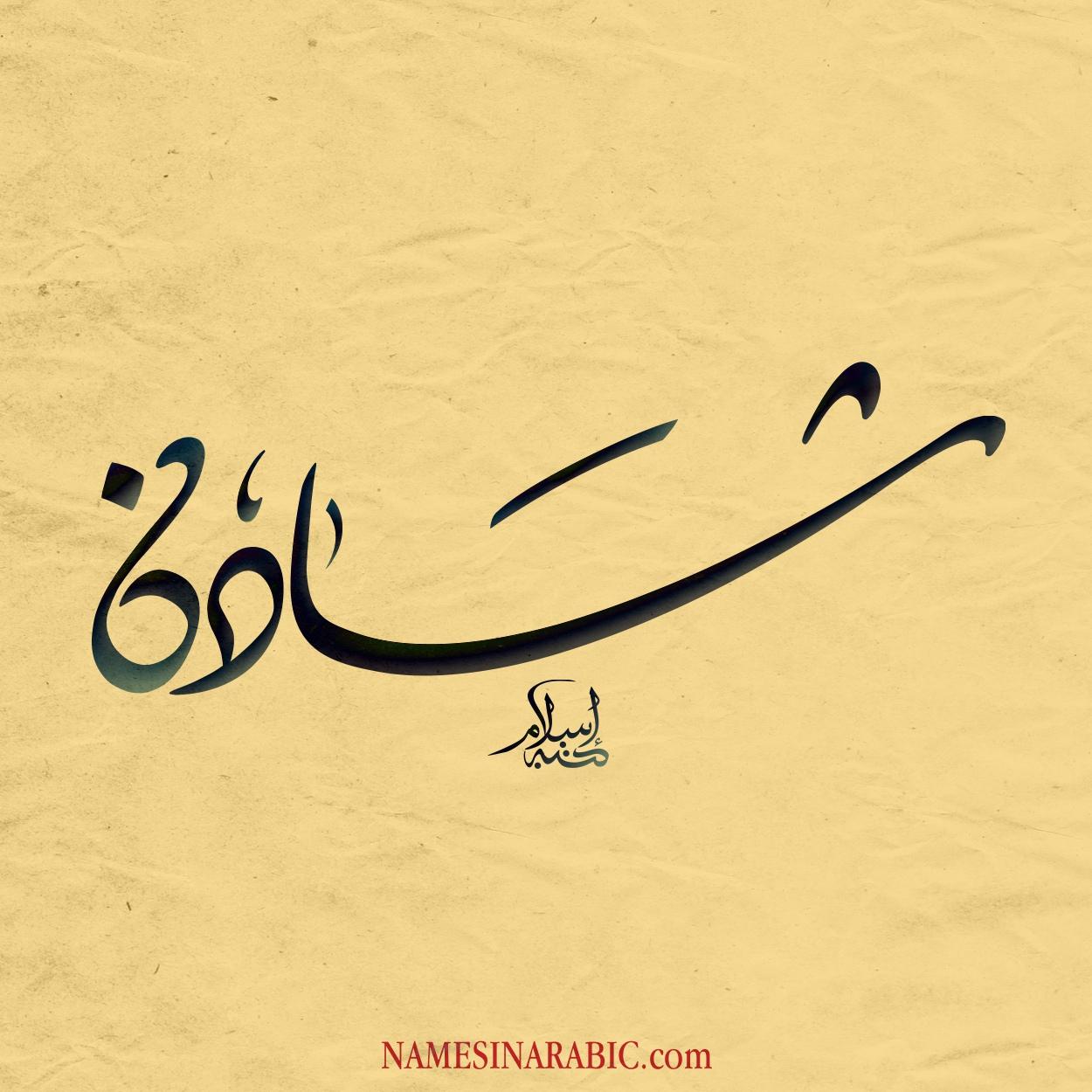 مشاهير يحملون اسم شادن و معنى اسم شادن قاموس الأسماء و المعاني