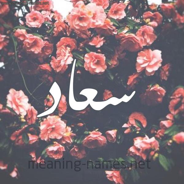 صورة اسم سعاد Soaad شكل 10 صوره ورود للإسم بخط رقعة