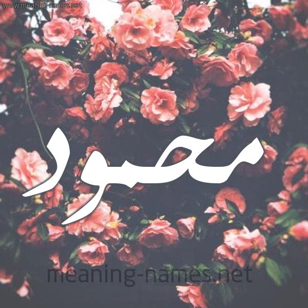 صورة اسم مَحمود Mahmoud شكل 10 صوره ورود للإسم بخط رقعة