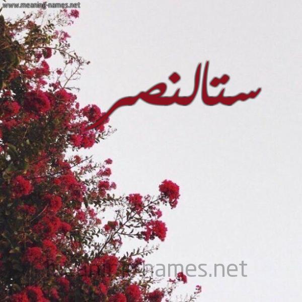 شكل 18 صوره الورد الأحمر للإسم بخط رقعة صورة اسم ستالنصر Stalnsr