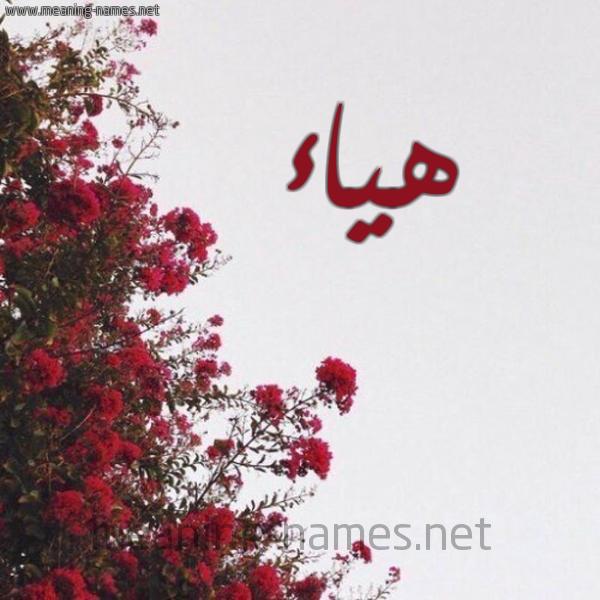 صور اسم هياء قاموس الأسماء و المعاني