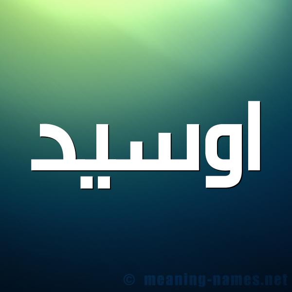 صورة اسم اوسيد ouseed شكل 1 صوره للإسم بخط عريض