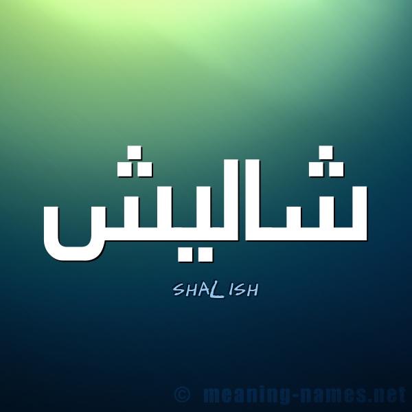 صورة اسم شاليش SHALISH