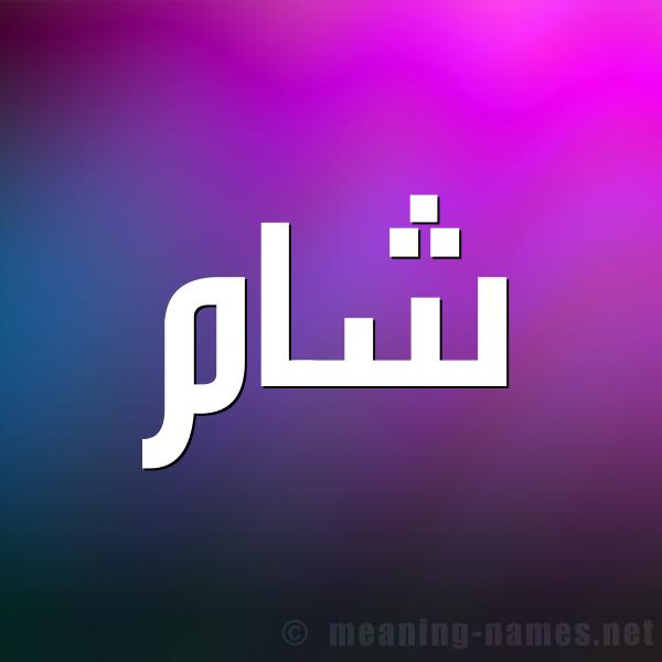 صورة اسم شام Sham شكل 1 صوره للإسم بخط عريض