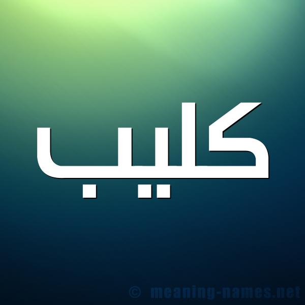 معنى اسم ك لي ب قاموس الأسماء و المعاني