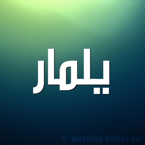 صورة اسم يلمار yLamar شكل 1 صوره للإسم بخط عريض