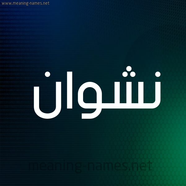 شكل 8 صوره ديجيتال للإسم بخط عريض صورة اسم نشوان Nshwan