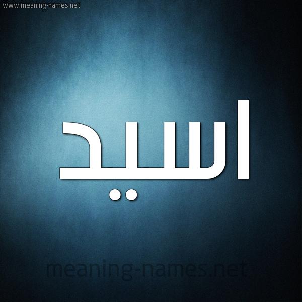 صورة اسم اسيد Asid شكل 9 صوره ديجيتال للإسم بخط عريض